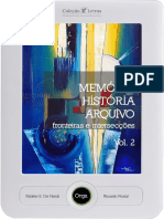 Memoria Historia Arquivo Vol 2