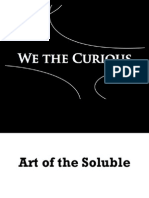 Art of the Soluble | WE THE CURIOUS vol.2 no.2