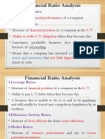 Lecture 3 Ratio Analysis