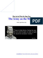 The Art of War by Sun Tzu the Army on the March