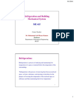 Refrigeration Classification