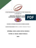 Informe Final Del Internado.2018 Cinthia Veronica