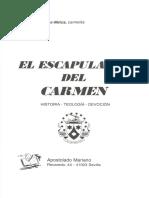 Lopez Melus, Fray Rafael - El Escapulario Del Carmen