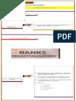 General Studies -3 Notes - Bank Recapitalisation