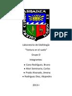 LEDA1 - Textura Del Suelo. (Resultados)