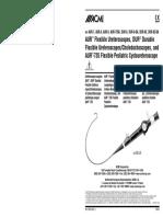 ACMI AUR,DUR Ureteroscope - User Manual