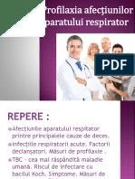 Profilaxia Afectiunilor Sistemului Respirator