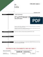 Vista Previa de Une Iso 14641-1_2015 Archivos Electronicos