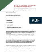 Características de La Sociedad Guatemalteca Actual Con La de Otros Momentos Histórico1