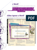 1.- Procesador de Texto Word