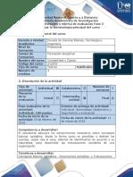 Guía de Actividades y Rúbrica de Evaluación - Fase 2 - Analizar La Terminología Principal Del Curso