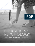 EducationalPsychologyForLearningAndTeaching5thEditionFrontBackMatter