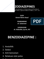 Benzodiazepines - Anestesi