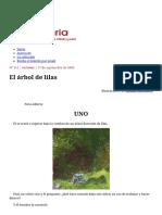 El Árbol de Lilas, Por María Teresa Andruetto - Imaginaria No. 111 - 17 de Septiembre de 2003