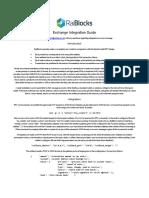 RaiBlocks Exchange Integration Guide Rev1