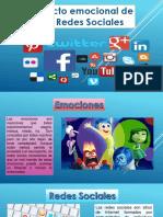 impacto emocianal de las redes sociales