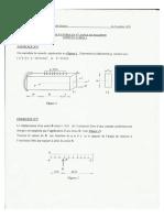 ORAN- Concours de Magister Et Doctorat LMD- RDM Pour Les Spécialités _Génie-Civil_.