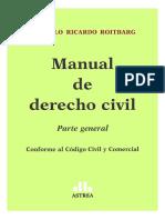 Manual de Derecho Civil. Parte General. Roitbarg. 2016..pdf