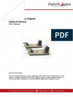 User Manual for Multi Purpose Digital Optical Sensor