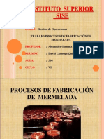 Proceso Mermelada