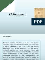 Síntesis Clases Romancero Viejo