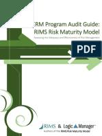 ERM Program Audit Guide RIMS Risk Maturity Model