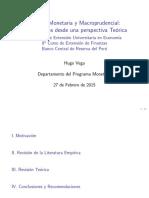 Presentacion Macroprudencial Curso Verano BCRP 2015