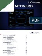 Zynaptiq ADAPTIVERB Manual