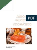 Jabón de Glicerina Aromático