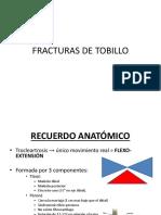 Fx Tobillo Definitivo!