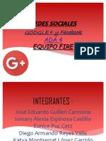 GOOGLE+ y Facebook 22