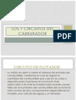 Los 7 Circuitos Del Carburador