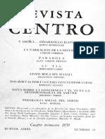 CORREAS, C - La narracion de la historia -  Centro nº 14 1959.pdf