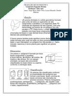 Trabalho de Matemática Prisma