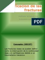 Presentacion Clasificacion de Las Fracturas