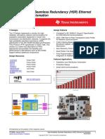 High-Availability Seamless Redundancy (HSR) Ethernet for Substation Automation