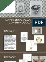 modelando Joyas Con Rhinogold