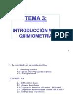 Introduccion a La Quimiometria