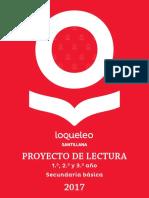 Pl Loqueleo Secundaria 2017 Digital