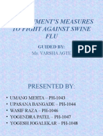 GOVERNMENT'S MEASURES TO FIGHT AGAINST SWINE FLU