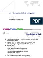 Introduction to DMS Integration