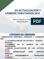 ACTUALIZACIÓN TRIBUTARIA 2018 -  ACTUALICESE - FEB_2