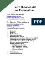 Tema 07 - Lupus Eritematoso Cutáneo (Resumen)