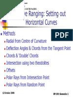 Curve Ranging