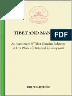 Tibet and Manchu..