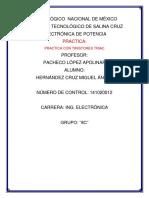Practica Con Tiristores Triac- Hernandez Cruz Miguel Angel