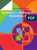 Educacion Inclusiva en Bolivia