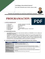 Programación Anual 4TO HISTORIA