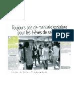 Michèle Vitrac-Pouzoulet, Conseillère régionale d'IDF s'exprime pour la rentrée scolaire