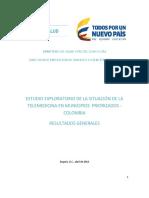 Estudio Exploratorio Telemedicina Municipios Priorizados Colombia